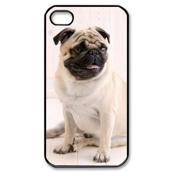 Adorable Pug Pugs Puppy Dog Durable Cover Case For iphone 4 4S 5 5S 5C 6 6s 6 PLUS 6s plus
