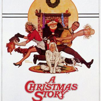 A Christmas Story 11x17 Movie Poster (1983)