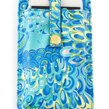 Sea Blue Lilly's Lagoon Tiki Palm iPhone 6 Case - Lilly Pulitzer