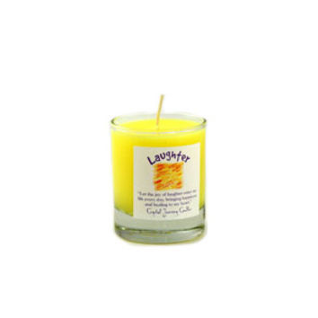 Laughter Soy Glass Votive Candle