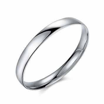 Men's Silver Plated Bangle