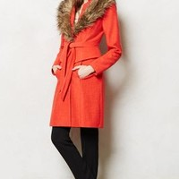 Montaigne Coat by Tracy Reese Orange 12 Apparel