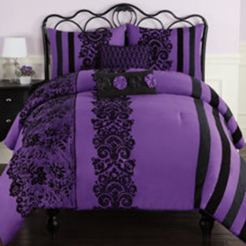 Violetta Lace Comforter Set - Bed Bath & Beyond