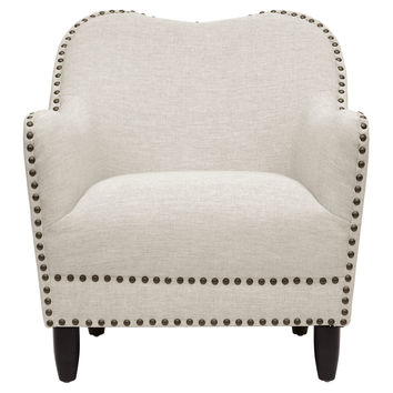 Herring Accent Chair, Gray, Club Chairs