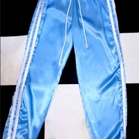 SWEET LORD O'MIGHTY! SILK KITTEN TRACKIEZ IN BLUE