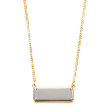 Marc by Marc Jacobs Jewelry Women's ID Plaque Necklace