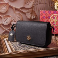 Beauty Ticks Tb Tory Burch Women's Leather Kira Inclined Shoulder Bag #4644
