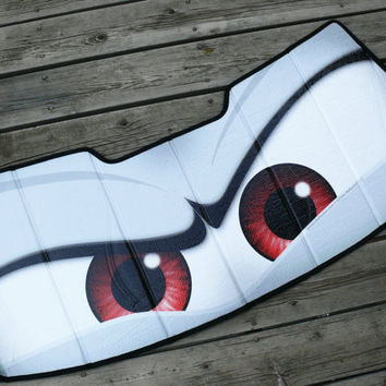 MINI Cooper eyes sunshade  Eyeshades  custom by ArtisticReflection
