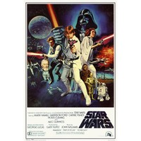 Star Wars - A New Hope Movie (Group, Credits) Poster Print | | OCM.com