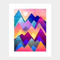A New Day Art Print By Elisabethfredriksson Design By Humans