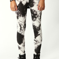 Janey Smudge Print Leggings