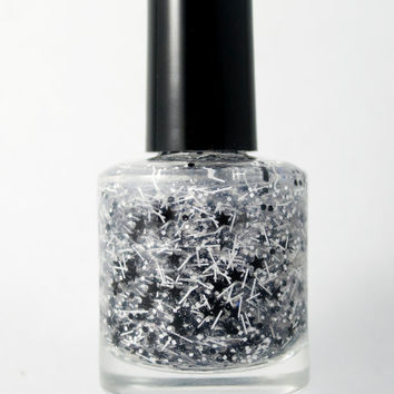 Enchanted Zebras - Handmade nail polish Full bottle