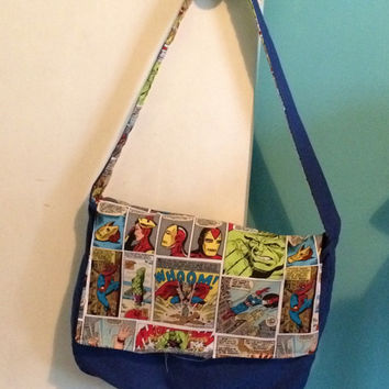 Marvel Golden Age Comics Reversible Messenger Bag