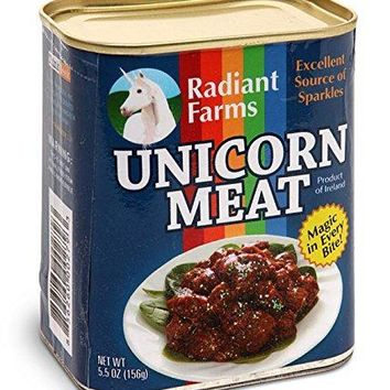 Canned Unicorn Meat: Excellent Source of Sparkles, Magic in Every Bite - FREE US SHIPPING