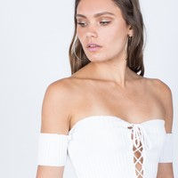 Tied Together Crop Top