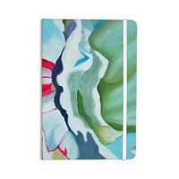 "Cathy Rodgers ""Peony Shadows"" Green Flower Everything Notebook"