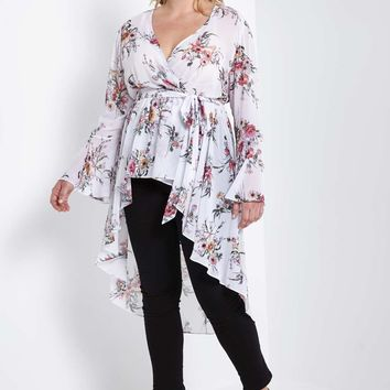 Duster Top Plus Size