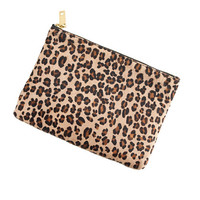 J.Crew Womens Calf Hair Pouch