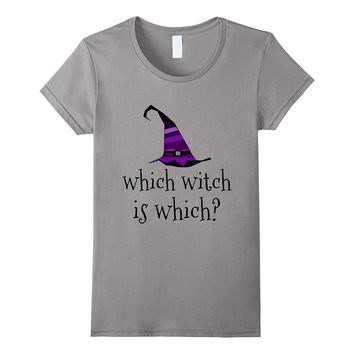 Which Witch Is Which Funny Grammar Teacher shirt
