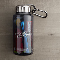 Ultimate Survivor Kit in a Water Bottle