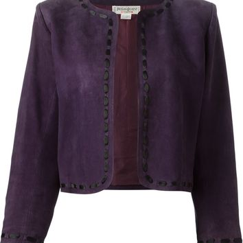 Yves Saint Laurent Vintage cropped jacket