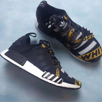 CREYGE2 Beauty Ticks Adidas Nmd Women Fashion Running Sports Shoes Sneakers Special Customized