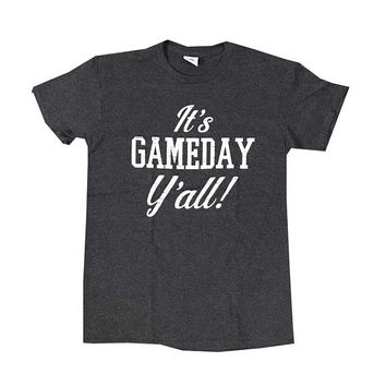It's Gameday Y'all Unisex T-Shirt / Football Team Fan Shirt / Perfect Football Gameday T-Shirt / Country Southern Style Shirt