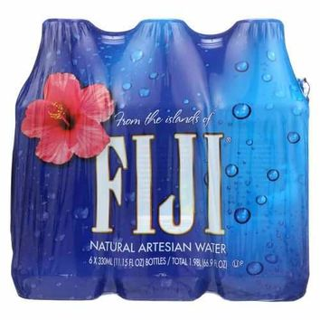 Fiji Natural Artesian Water Artesian Water - Case of 6 - 11.2 FL oz.