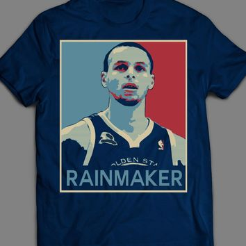 "STEPH CURRY BASKETBALL ""RAINMAKER"" POP ART T-SHIRT"