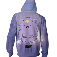 Lumpy Space Princess Zip-Up Hoodie