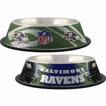 Baltimore Ravens Dog Bowl