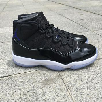 Air Jordan Carbon Fiber Retro 11 Space Jam 45 Men Basketball Shoes Top Quality 11s Space Jams 45 Sports Sneakers With Shoes Box