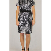 Katherine Barclay abstract dress