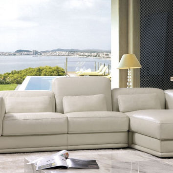 Modern style sectional sofa top Genuine leather sofa living room furniture 8243B