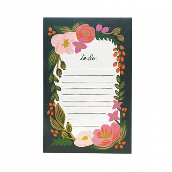 RIFLE PAPER CO. ROSALIE NOTEPAD