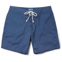 J.Crew Dot-Print Mid-Length Swim Shorts | MR PORTER