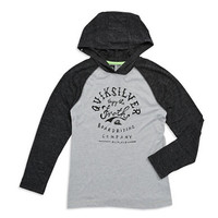 Quiksilver Boys 8-20 Enjoy The Froth Hooded T Shirt