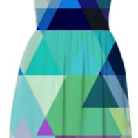Azure Mountains created by House of Jennifer | Print All Over Me