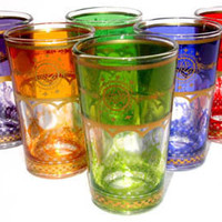 Tangier tea glasses