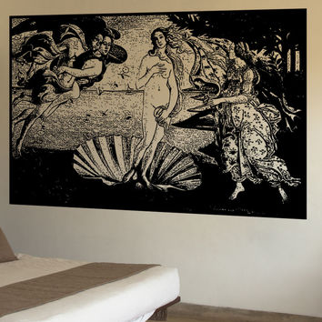 Vinyl Wall Decal Sticker The Birth Of Venus #5413