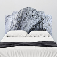 Paul Moore's Rock Formation Adhesive Headboard wall decal