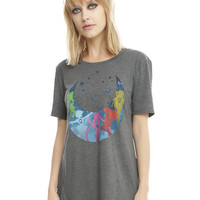 Sailor Moon Scouts Moon Silhouette Girls T-Shirt