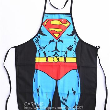 Party Product,Funny Superman Adonis,Sexy Apron Character Costume Cooking apron