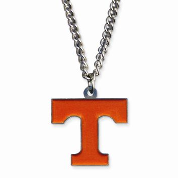 Collegiate Tennessee 20 inch Chain Necklace