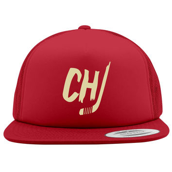 Chicago Blackhawks Foam Trucker Hat