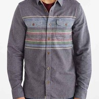 Vans Florage Button-Down Shirt- Navy