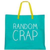 Happy Jackson Random Crap, Huge Reusable Shopping Bags, Recycled Bags,