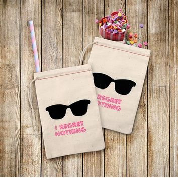 10pcs I REGRET NOTHING Hangover Kit Bags Wedding Gifts