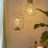 Jenni Faceted Firefly Lantern | Urban Outfitters