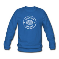 Sweat-shirt Use Your Brain - Funny Statement / slogan | Spreadshirt
